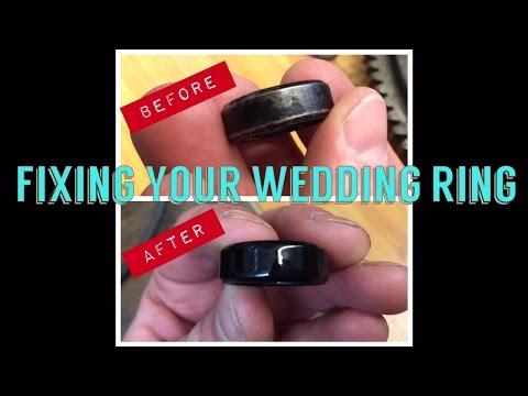Powder Coating wedding ring