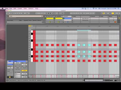 Ableton Live 9 Tutorial How to Make Deadmau5 Chords/Melodies
