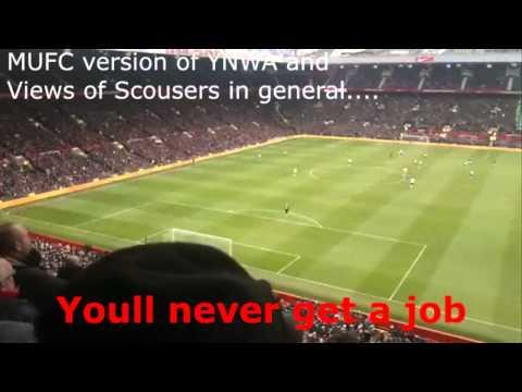 Man Utd Fans Funny Football Chants - Luis Suarez, You'll never get a Job, Andy Carroll, Liverpool.