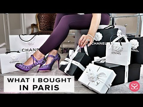 OPENING WHAT I BOUGHT IN PARIS   LUXURY CHANEL HAUL   Sophie Shohet