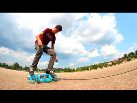 HOW TO: CRAZY FREESTYLE SKATE TRICK