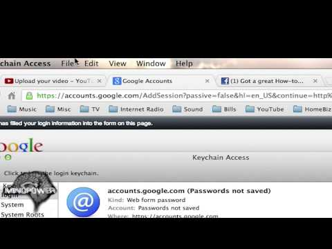 How to Fix Google Chrome Confidential Information Prompt on Mac - MindPower009