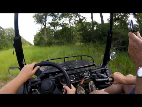 Go Kart off-road ride captured with GoPro Hero