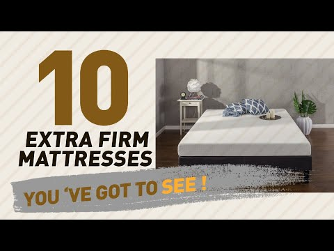 Extra Firm Mattresses, Sleep Well Collection // The Most Popular 2017