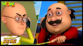 Kids TV Shows | Cartoons | Motu Patlu New Episodes | Motu Patlu Ki Laser Power | Wow Kidz