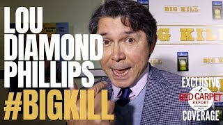 "Lou Diamond Phillips Interviewed At The Hollywood Premiere Of ""big Kill"" #western #bigkillmovie"