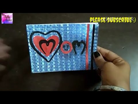 How to Make  - Easy Greeting Card Mother's Day . Step by Step || by The Arts Center