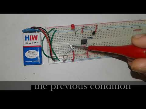 Light Detector using Wheatstone Bridge