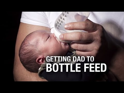 Getting Dad to Bottle Feed
