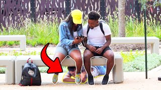 Funny Shoe Tying prank !