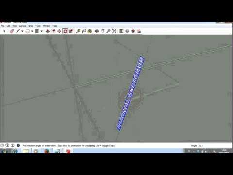 Google sketchUp Tutorial text 3d