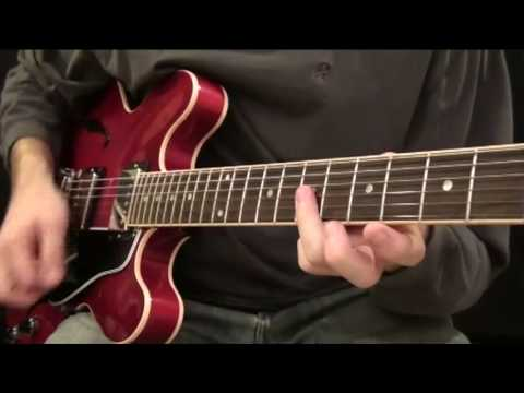 Part 1: How To Play a Funk / Blues Rhythm Guitar Like Steve Cropper / Stax Style