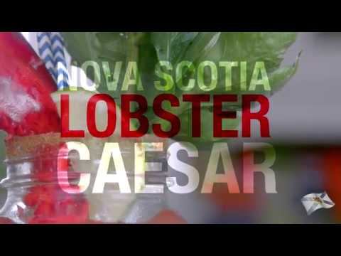 Nova Scotia Lobster Caesar cocktail with the Kilted Chef