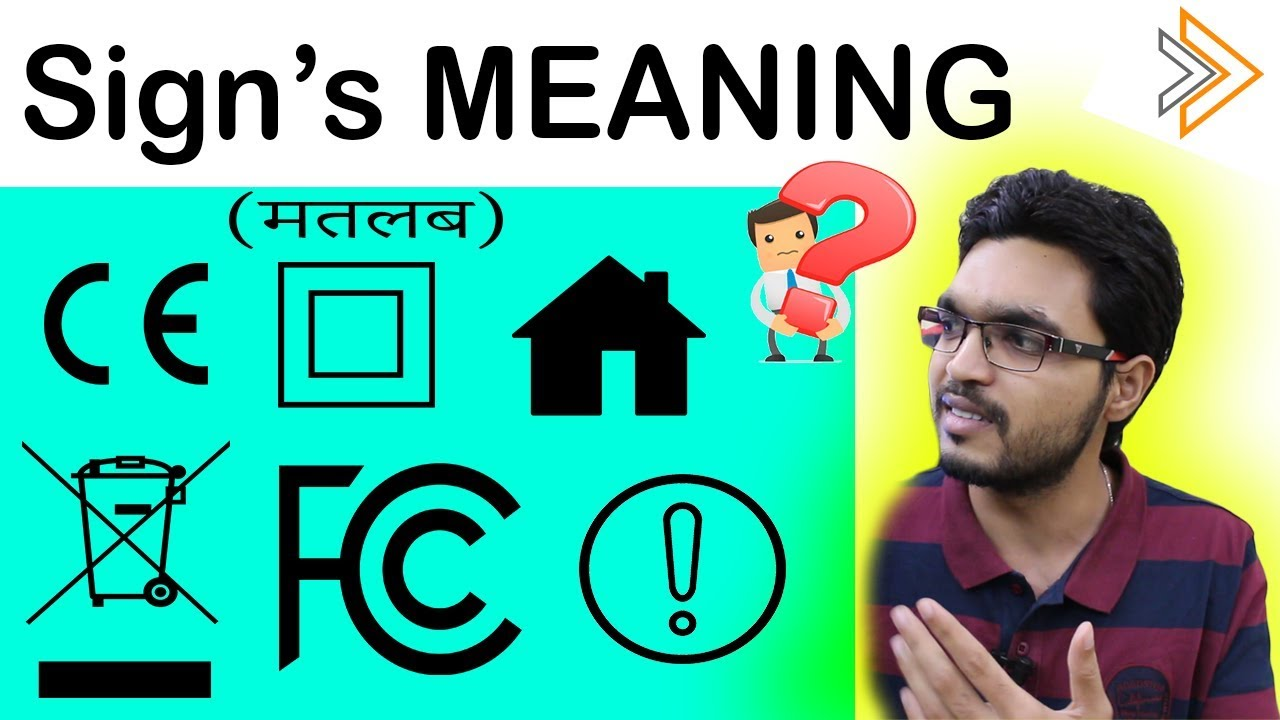 Symbols on Electronics Devices and Products ? | [ in Hindi ]