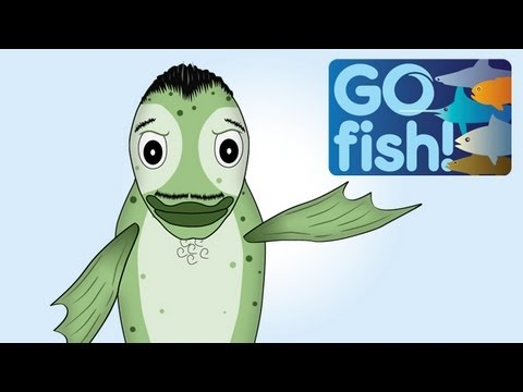 Gil the Chilean Seabass has something to say... GO Fish!