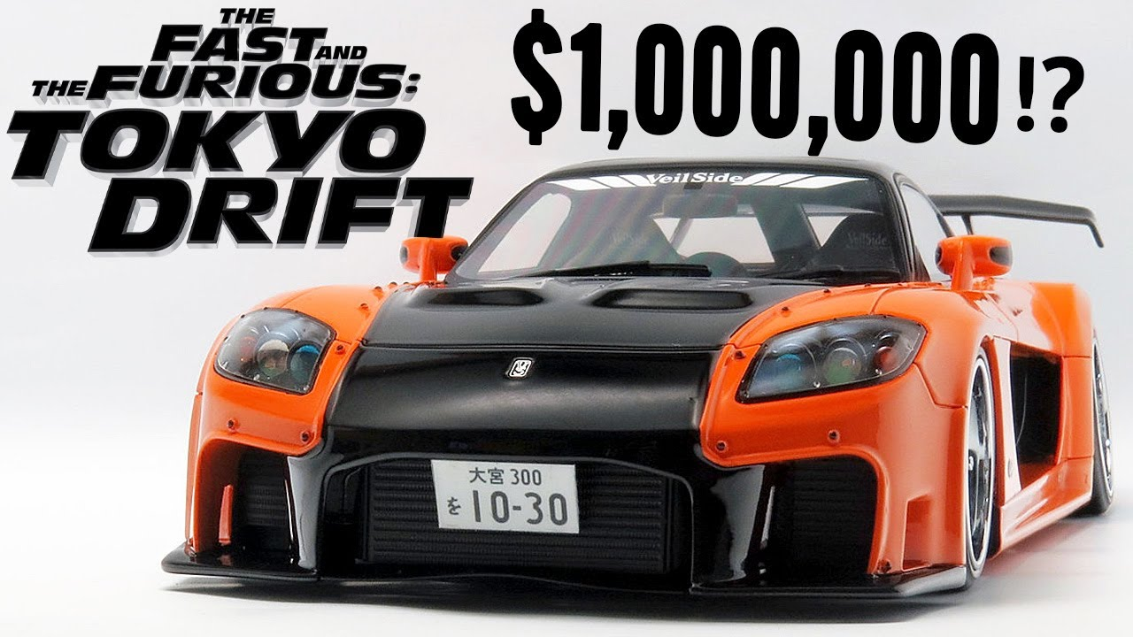 The Cost of EVERY Car From Tokyo Drift