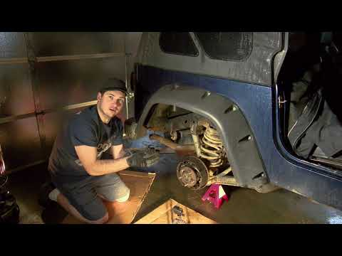 Adjusting The Hand Brake in a Jeep Wrangler
