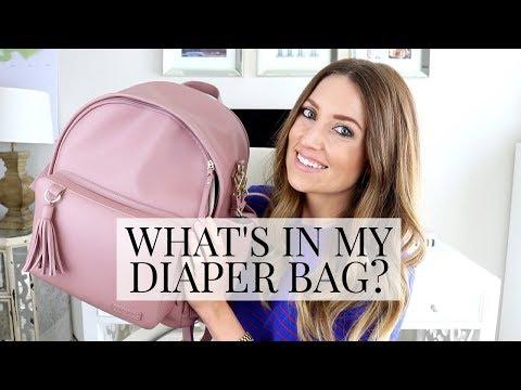 What's in my Diaper Bag? (+ Skip Hop Diaper Bag Review) | Kendra Atkins