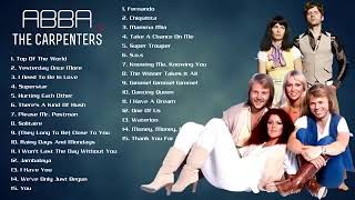 ABBA, The Carpenters Non Stop Love Songs 2021 ♫ The Ultimate Love Song Collection 2021