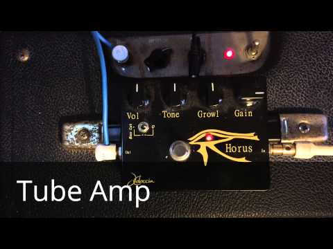 How An Overdrive Pedal Sounds Through a Tube Amp VS. Solidstate Amp