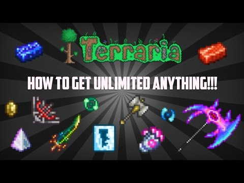 Terraria ios 1.2.4 | Brand New Duplication Glitch! (How to Get Unlimited Items!!!) Working 2017