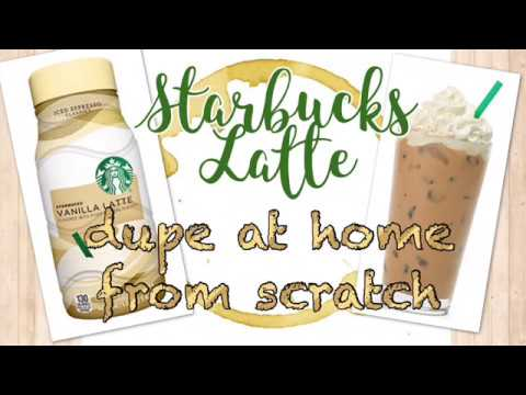 STARBUCKS ICED LATTE DUPE || Without Expensive Equipment  || Special Surprise at End of Video!!