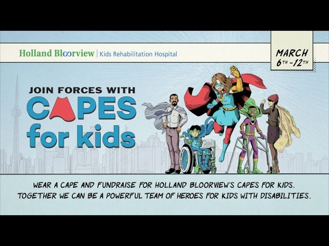 @torontopolice supports #capesforkids