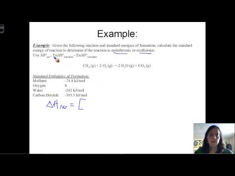 Standard Heat of Formation & Calculating Standard Heat of Reaction