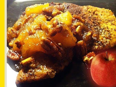 Apple-Glazed Pork Chops Recipe by: Food Luv Bites