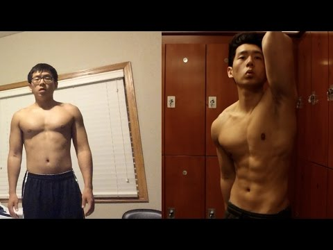My 1 Year Body Transformation | Average To Fit (Calisthenics & Weight Lifting)