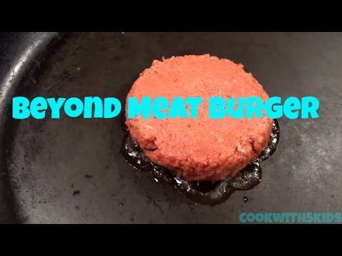 Beyond Meat: The Beyond Burger Taste Test!