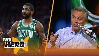 Colin talks Kyrie becoming a flake, LeBron