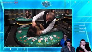 Blackjack Dealer Faints