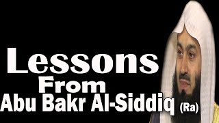 The Best Humankind Abu Bakr Al Siddiq (Ra) After The Prophets (A.S)  | Mufti Menk