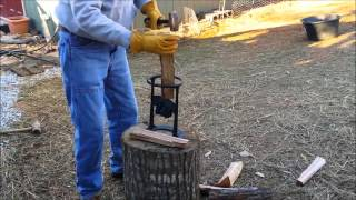 Kindling Cracker-  Firewood Kindling Splitter Review