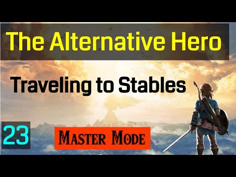023 Master Mode Breath of the Wild Finding Stables to get Arrows