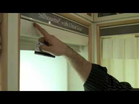 Hunter Douglas Silhouette remove and re-install video