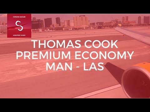 Thomas Cook Premium Economy Manchester to Las Vegas