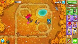 Beating CHIMPS without permaspikes - Bloons TD 6 Off The Coast