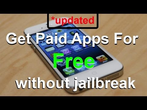 *Updated Get Paid Apps For Free without Jailbreak/Cydia - 2014 (iOS 8 and below)