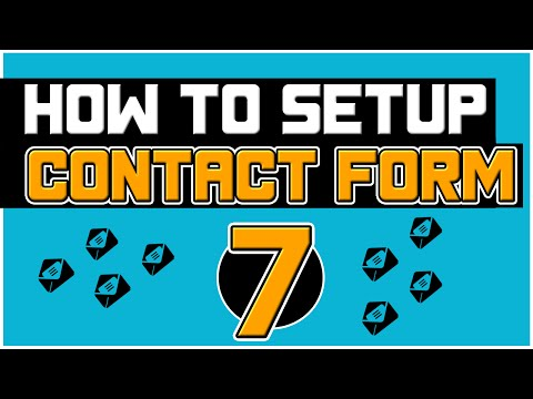 How to Use Contact Form 7 Plugin For WordPress - Step-By-Step Tutorial 2016
