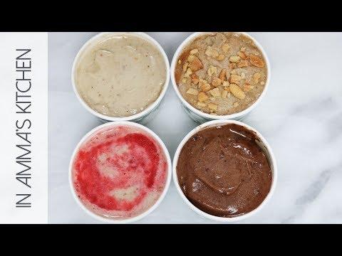 4 Ways No Machine Banana Ice Cream
