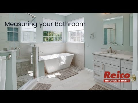 Measuring your Bathroom for a Remodeling Project