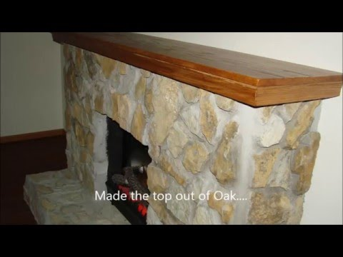 How to build an Electric Stone Fireplace