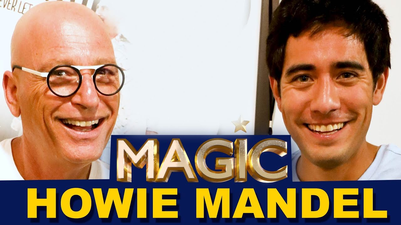 Howie Mandel Drives Zach King Crazy | Magic with Celebrities EP1