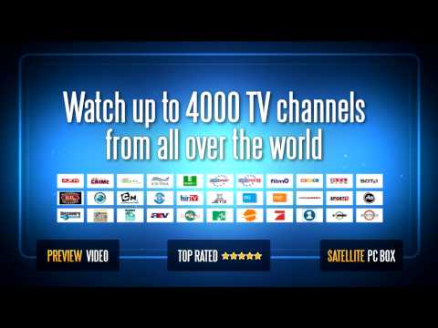Watch Live Television without TV Converter Boxes, Satellite TV reciever or Portable satellite dish
