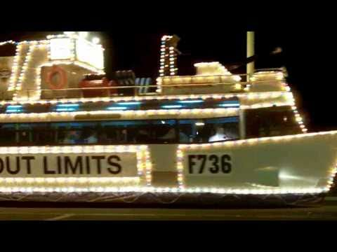 Blackpool Pleasure Beach and illuminations (HD)