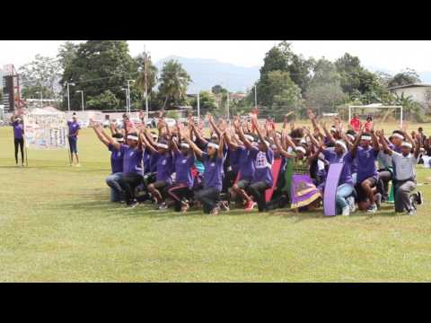 NorthGate College Sports Day 2017 - Team Accuracy's Pageantry