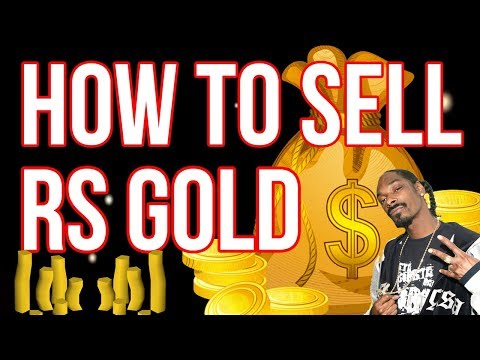 How to sell/buy gold in Runescape