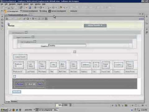 Creating a User Interface with CAF